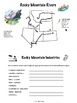Rocky Mountain Region Booklet Printable Worksheets
