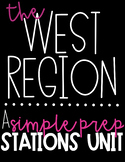 US Regions   The West   9 Activity Stations