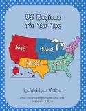 US Regions Tic Tac Toe