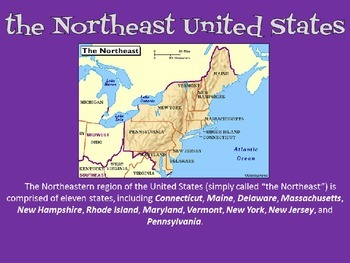 U.S. Regions -Unit Overview PowerPoint