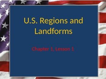 U.S. Regions and Landforms