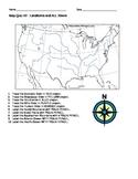 U.S. Rivers and Landforms Quiz
