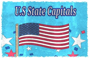 US STATE CAPITALS MATCH-UP TEST