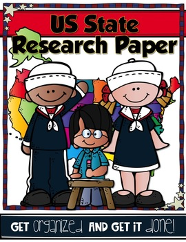 US STATE RESEARCH PAPER {Get Organized and Get it Done!}