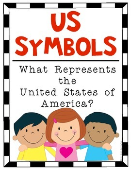 {US SYMBOLS} Poster Set for the Kindergarten and First Grade Classroom