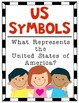 {US SYMBOLS} Poster Set for the Kindergarten and First Gra