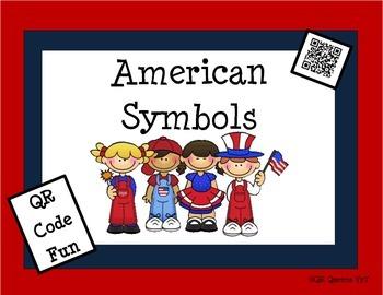 US SYMBOLS using QR CODES & LINKS ~ Plus US SYMBOLS Student BOOKLET
