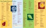 US Seasonal Foods New England Focus