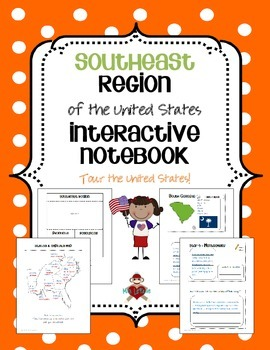 US Southeast Region Interactive Notebook
