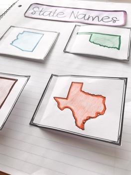 U.S. Southwestern Region Interactive Notebook: Grades 3-5