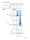 U.S Standard Algorithm for Division Organizer