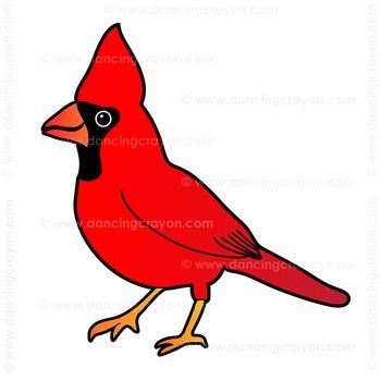 US State Birds Clip Art