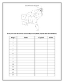US State & Capital Identification