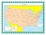 US State Capital Map Quiz - How well do you know the US St