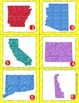 5th Grade United States State Card Game Common Core Writin