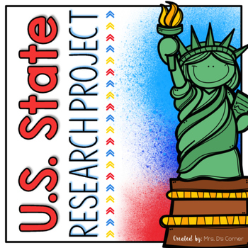 U.S. State Elementary Research Project and Notebook