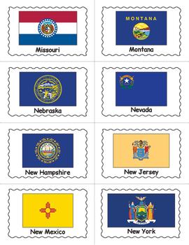 US State Flags BINGO Game