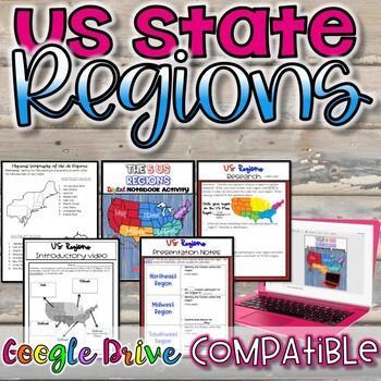 US State Regions {NO PREP}