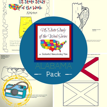 US State Study of the Week Weekly Series Alabama Pack