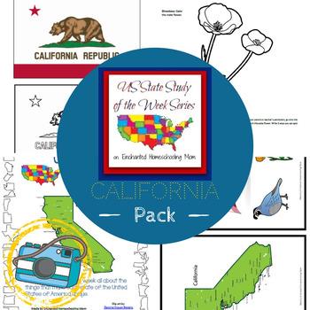 US State Study of the Week Weekly Series California Pack