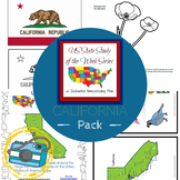 US State Study of the Week Weekly Series California Pack