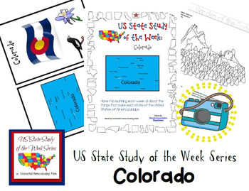 US State Study of the Week Weekly Series Colorado Pack