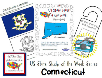 US State Study of the Week Weekly Series Connecticut Pack