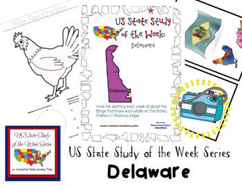 US State Study of the Week Weekly Series Delaware Pack