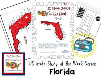 US State Study of the Week Weekly Series Florida Pack