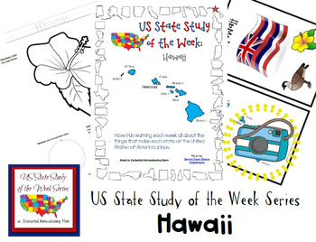 US State Study of the Week Weekly Series Hawaii Pack