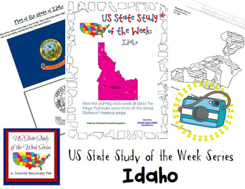 US State Study of the Week Weekly Series Idaho Pack