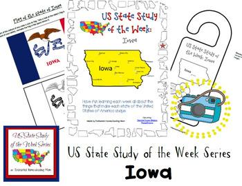 US State Study of the Week Weekly Series Iowa Pack