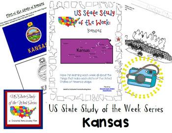 US State Study of the Week Weekly Series Kansas Pack