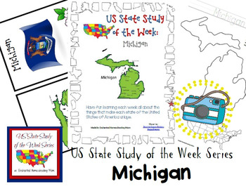 US State Study of the Week Weekly Series Michigan Pack
