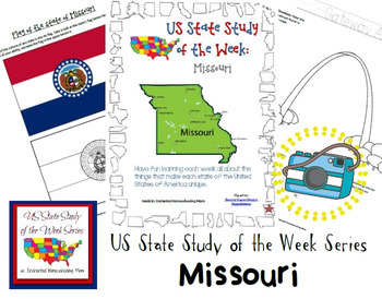 US State Study of the Week Weekly Series Missouri Pack