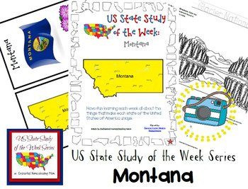 US State Study of the Week Weekly Series Montana Pack