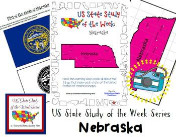 US State Study of the Week Weekly Series Nebraska Pack
