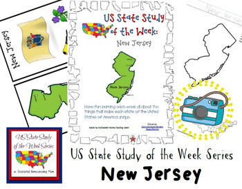 US State Study of the Week Weekly Series New Jersey Pack