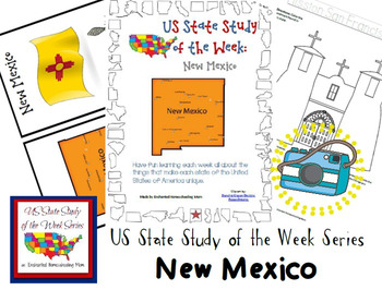 US State Study of the Week Weekly Series New Mexico Pack