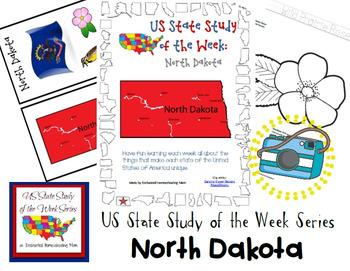 US State Study of the Week Weekly Series North Dakota Pack