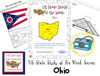 US State Study of the Week Weekly Series Ohio Pack