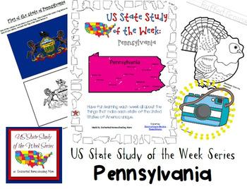 US State Study of the Week Weekly Series Pennsylvania Pack