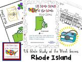 US State Study of the Week Weekly Series Rhode Island Pack