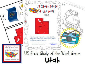 US State Study of the Week Weekly Series Utah Pack