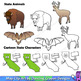 US State Symbols and State Map Clip Art BUNDLE