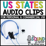 US States Audio Clips - Sound Files for Digital Resources