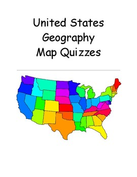 US States Ready Made Map Quizzes