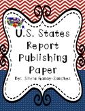U.S. States Report Publishing Paper