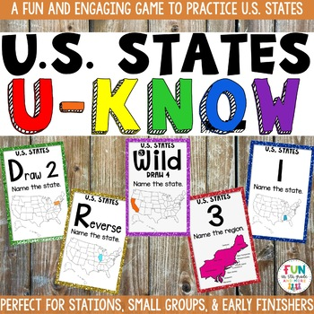 US States Game: U-Know