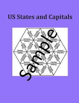 US States and Capitals 1 – Puzzle